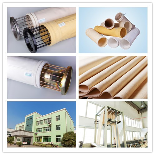 Baghouse Ptfe Dust Filter Material Filter Bags For Dust Collector  In Cement Industrial
