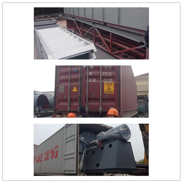 Dust Fume Collector Pulse Jet Bag Filter in Asphalt Plant / Cement Plant