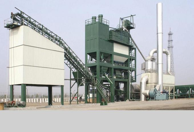 Asphalt Batching Dust Collector Systems , Asphalt Mixing Site Bag Filter Equipments