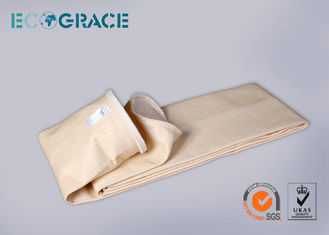 China Aramid Filter Media Nomex Filter Bag Asphalt Mixing Site Bag Filter supplier