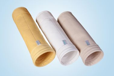 China High Efficiency P84 PPS Dust Filter Bags For Cement Kiln Smoke And Gas Filtration supplier