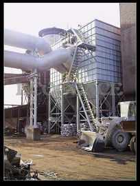 China Cement Plant Pulse Jet Fabric Filter / Industrial Bag House Filter Dust Collector supplier