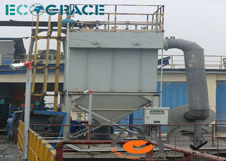 China Dust Fume Collector Pulse Jet Bag Filter in Asphalt Plant / Cement Plant supplier