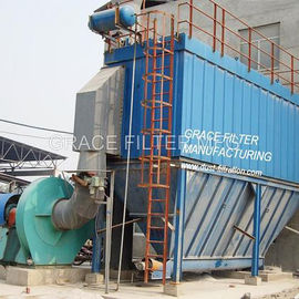 China Industrial Reverse Pulse Jet Bag Filter Efficiency For Water Treatment supplier