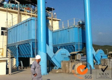 China Cement Mill Pulse Jet Dust Collection Industrial Bag Filter Low Pressure supplier
