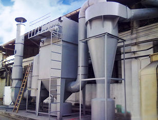 China Cyclone Dust Collector Portable Pulse Jet Bag Filter Clinker / Pulse Jet Fabric Filter supplier