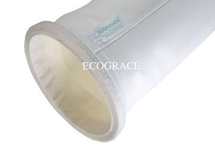 China Industrial Grade Fabric Polyester Dust Filter Bags High Temperature Resistant supplier