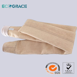 China Homo Acrylic / PANS Industrial Filter Bags Cement Plant Detergent Plant supplier