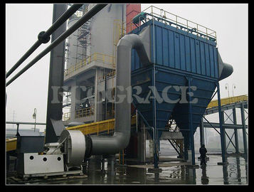China Compact Pulse Dust Collector Systems For Cement Plant / Woodworking supplier