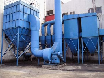 China Dust Extraction Systems  Filter Units Pulse Jet / Reverse Jet Blowing Bag Filter supplier