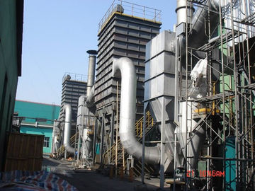 China Stainless Steel Dust Collector Systems , Cement Mill Industrial Bag Filter supplier