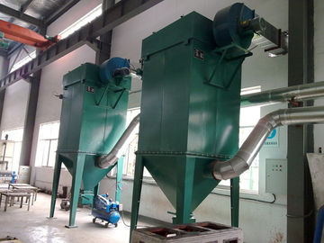 China Dust Extraction Fabric Air Filter Baghouse Dust Collector Machine supplier