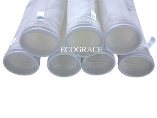 China Cement Mill Dust Collector Filter Bags Industrial Polyester And Membrance PTFE Filter Bags supplier