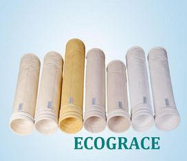 China Industrial Dust Filter Bags For Dust Collector , Baghouse Dust Extractor Bags supplier