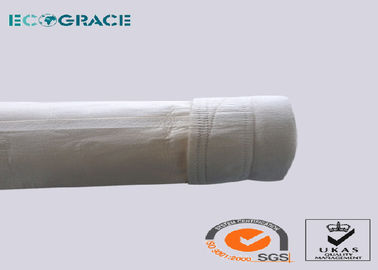 China Flue Gas Filtration Air Filter Bag , Industrial Filter Bags PPS / PTFE Filtration Felt supplier