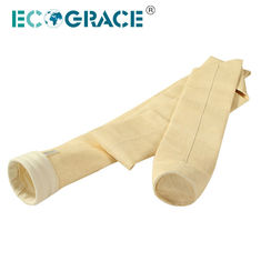 China Nomex Aramid Industrial Filter Bags Iron Steel Plant  Dust Filter System 130x6000mm supplier