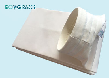China PTFE Graphite Silicon 1/3 Twill weaving Fiberglass Filter Bags Dust Filter Bags supplier