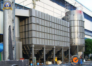 China Industrial Bag Filter Equipment , Cement Rotary Kiln Plant Baghouse Dust Collector supplier