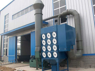 China Cartridge Filter Dust Extraction System Used In Aluminum Powder Spreading supplier