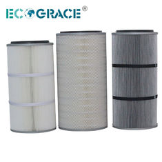 China Performance Industrial Cyclone Dust Collector Filter Cartridge / Silo Vent Filter supplier
