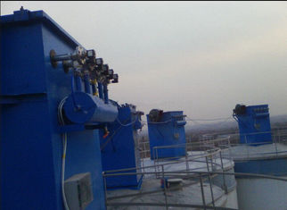 China D140 x L1000mm Industrial Dust Collector Cyclone Top Silo Filter ER08/02 supplier