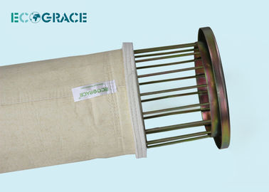China Meta Aramid Dust Collector Bag Filter Cloth Asphalt Mixing Plant Dust Filter Nomex Filter Bags supplier