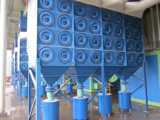 China Cartridge Filter Dust Collector Systems with 1.0~1.2 m / min Filtering wind speed supplier