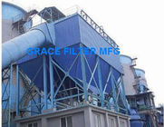 China Aluminium Melting Induction Furnace DMC Pulse Dust Collector Baghouse Filtration System factory