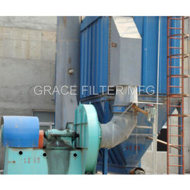 China High Efficiency Pulse Jet Bag Filter For Crusher / Cement Mill / Steel Plant distributor