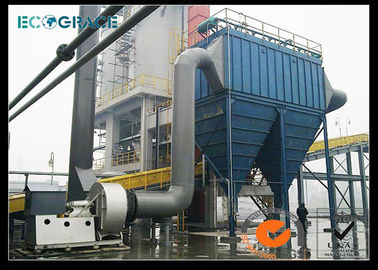 China Pulse Jet Dust Collector Baghouse Filter , Housing Industrial Filters Bag distributor