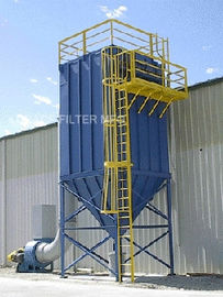 China Mining Industry Pulse Jet Bag House Filter High Temperature Fume Filtration distributor