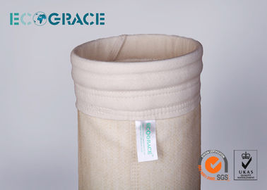 China PTFE / Fiberglass / PPS Filter Bags High Temperature Resistant distributor