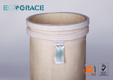 China NOMEX / Aramid Dust Collector Filter Bags  High Temperature Filter Bags 550 gsm distributor