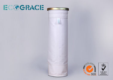 China Dust collector Filter Polyester Filter Bags For Cement Plant  130 X 2500mm distributor