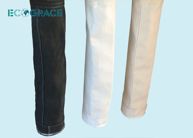 ECOGRACE Fiberglass Filter Bags PTFE / Graphite / Silicon Treatment  1/3 Twill