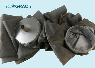 China Fiberglass Filter Cloth PTFE Filter Bags Alkali Free High Temperature Gas Resistance factory