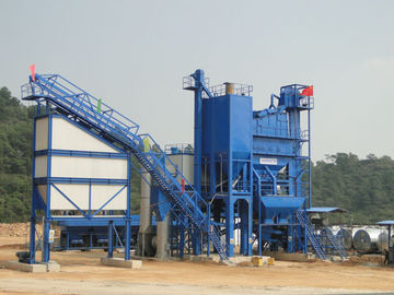 China Industrial Dust Collection Systems For Asphalt Plant , Baghouse Dust Collector distributor