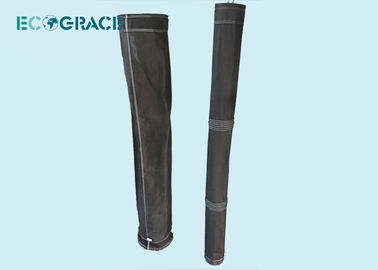 China ECOGRACE  Fiberglass Filter Bags Carbon Black Plant  150-260 degree High Temperature distributor