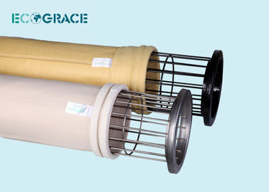 China Industrial Baghouse Dust Collector Filter Bag Cage With Galvanized / Silicon Coating Light distributor