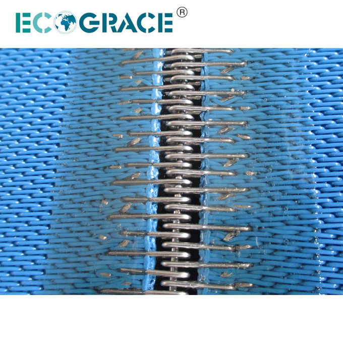 Belt Filter Press Cloth For Sludge Treatment PET Spiral Filter Fabric Sludge Filter